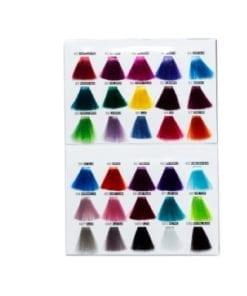 crazy color chart a5