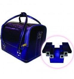 beauty tools purple case