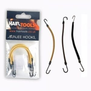 hair tools bunjee hooks blonde