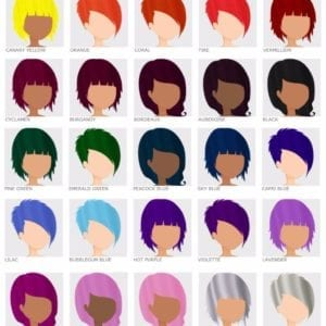 aocrcolorc coloration cheveux semi permanente crazy color