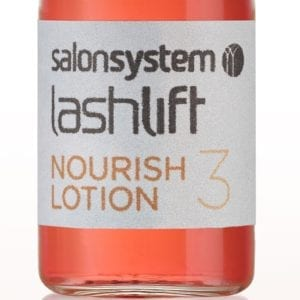 Lashlift Nourish Lotion bottle