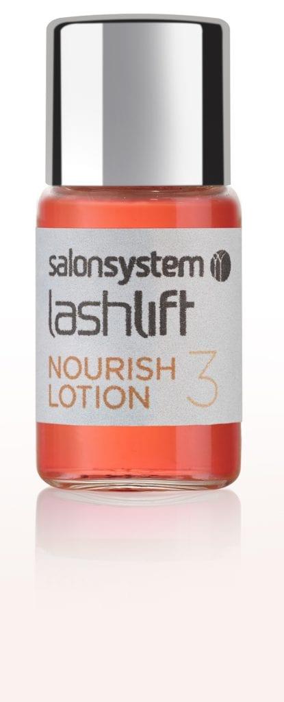 Lashlift Nourish Lotion bottle