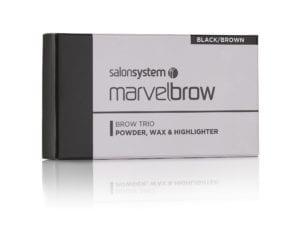 Marvelbrow Brow Trio Black pack
