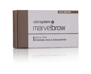 Marvelbrow Brow Trio Mid Brown pack