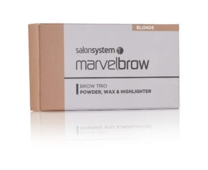 Marvelbrow Brow Trio Blonde pack