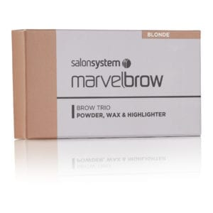 Marvelbrow Brow Trio Blonde pack