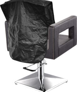 pvc chair cover - black - 20""