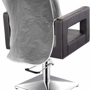 "pvc chair cover - black - 20"""