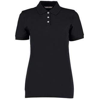Womens Black Polo KK705