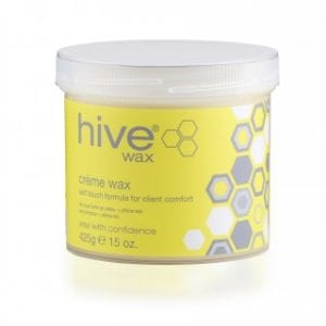 hive lavender shimmer creme wax 425g