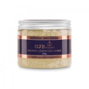 250g Sherbet Lemon Foot Scrub