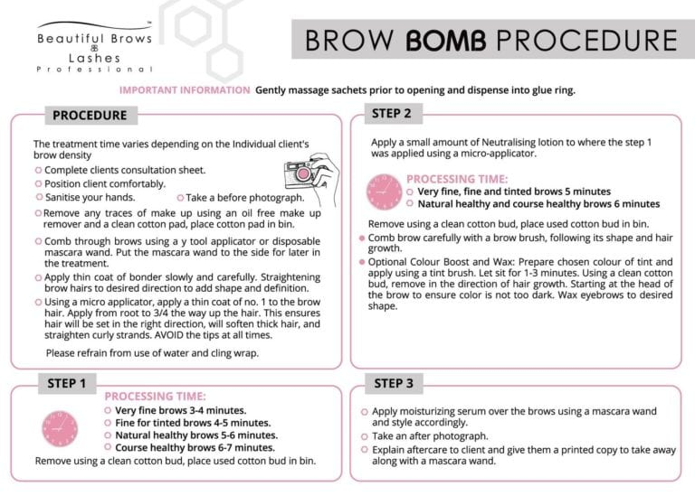 product brow bomb step 2