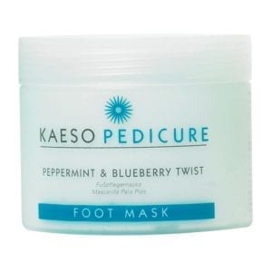 Kaeso Pedicure Foot Mask - Peppermint & Blueberry Twist 250ml