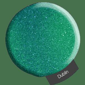 Dark green glitter powder