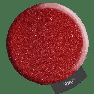 Red glitter powder